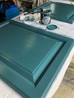 DIY Painted cabinets By Wilshire Collections #paintedcabinets #diy #interiorinspo #designideas