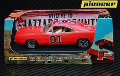 """Pioneer """"the General Lee"""" 1969 Dodge Charger DPR Scale Slot Car for sale online Carrera Slot Cars, 1969 Dodge Charger, General Lee, Plymouth, Hobbies, Scale, Ebay, Cosmetics, Clothing"""