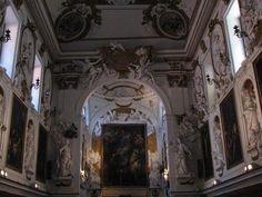 Pala d'altare con la Madonna del Rosario e Santi - Oratorio del Rosario di San Domenico a Palermo