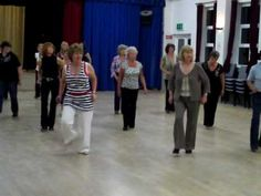 Line dance to Skinny Genes by Eliza Doolittle. Choreographed by Pat and Lizzie Stott.
