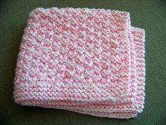 I designed this preemie baby blanket for the Irish Premature Baby Project. After I finished the blanket I gave the pattern to the ladies at my LYS. They all loved it, so I put it up on my blog for my subscribers to print off. I received a lot of requests for instructions on how to make the blanket larger. I placed those directions below the pattern. The blanket is worked up holding two stands of DK weight yarn together. It is a easy pattern and knits up very fast.