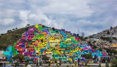 Street Artists and Local Government Team Up to Create Colorful Mexican Mural