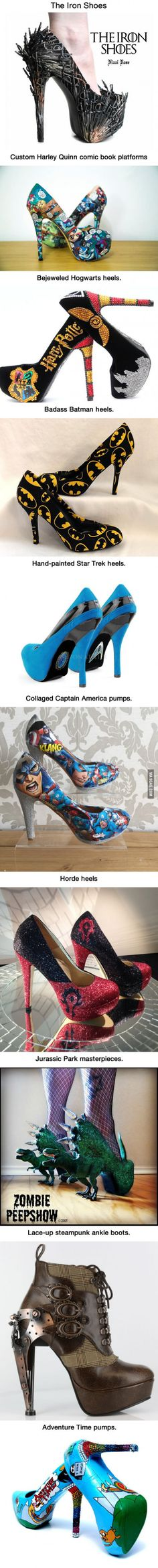 Geeky High Heels That Are Awesome