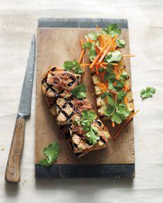 Food: Eleven Delish Tofu Recipes  (via Grilled Tofu Sandwiches | Whole Living)