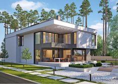 Проект двухэтажного дома LK&1206 с гаражом на 2 авто