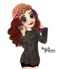 Happy Birthday Vanessa!  I hope you have a very incredible day! You are so amazing and sweetest!  I hope you like my little gift for ya!  Love you!  #vanessamarano #happybirthday #switchedatbirth #nadadeperfectas #marano #vanessa #fanart...