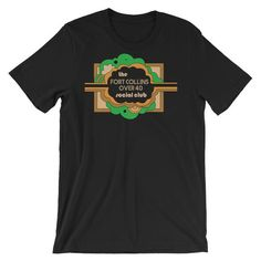 The Fort Collins Over 40 Social Club Meetup - E Co. T-shirt – foco designs