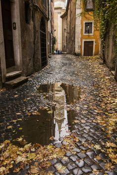 Autumn in Rome, In Rome by cristina duca