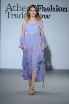 Eclectia: Amazing ancient greek style linen dress.  Lavender color . 100% Natural fabrics Lavender Color, Greek Islands, Ancient Greek, Summer Collection, Fabrics, Spring Summer, Natural, Amazing, Dresses