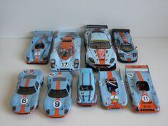 los coches de Gulf