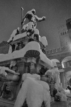 Bologna in the winter