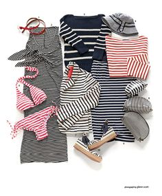 Love stripes in the summer!