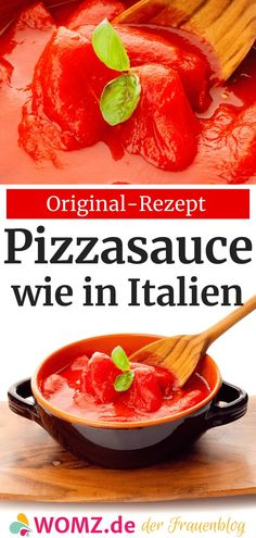 Italian Tomato Sauce, Quick Pizza, Few Ingredients, Dough Recipe, Pizza Dough, Original Recipe, Sauce Recipes, Italian Recipes, Food And Drink