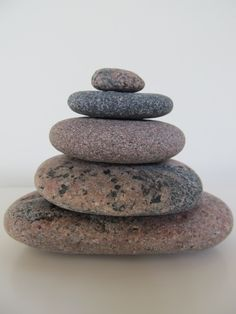stone art, ZEN cairn for balancing your energy, stacked stones cairn, gift idea, meditation stacking stones, japanese ZEN garden by LonelyBeach on Etsy