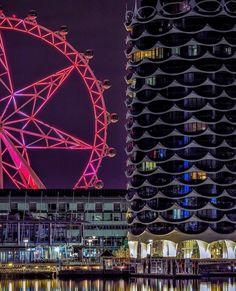 Docklands:  Melbourne, Victoria, Australia Melbourne Victoria, Victoria Australia, Melbourne Docklands, Fair Grounds, Travel, Viajes, Destinations, Traveling, Trips