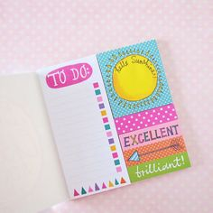 A booklet of super cute sticky notes and flags to aid with your decoration and planning. 6 different sticky note designs totaling 180 stickies!