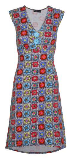 Pin-Up Dress Crochet Grey - UDSALG – MANIA Copenhagen