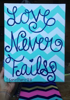 Perfect colors, favorite pattern and awesome saying Diy Arts And Crafts, Cute Crafts, Crafts To Do, Creative Crafts, Painting Quotes, Diy Painting, Quote Paintings, 3 Canvas Paintings, Diy Canvas