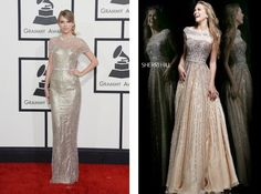 5 red carpet looks for less: Taylor Swift 2014 Grammys