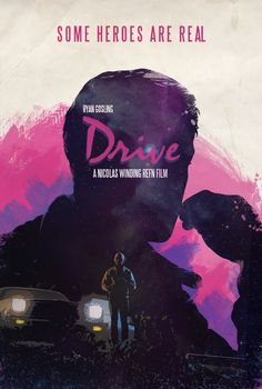 Drive Poster design by Luis Fernando Cruz Drive Movie Poster, Best Movie Posters, Cinema Posters, Movie Poster Art, Cool Posters, The Jungle Book, Fantasy Anime, Plakat Design, Alternative Movie Posters