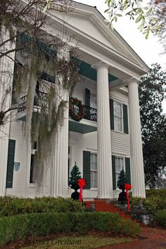 Noble Hall, also known as the Frazer-Brown-Pearson Home, is a historic Greek Revival style plantation house in Auburn, Alabama. Description from snipview.com. I searched for this on bing.com/images