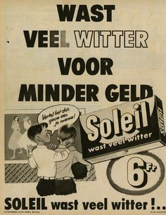 Reclame Soleil Retro Ads, Vintage Advertisements, Vintage Ads, Old Commercials, Old Ads, Advertising Poster, Vintage Pictures, Dutch, Posters