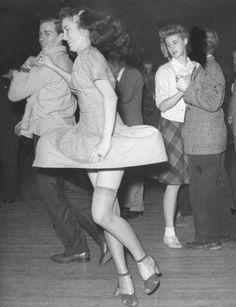 Dancers, 1940s