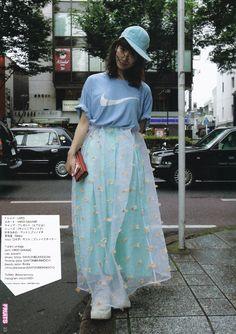 Fruits magazine Japanese street fashion