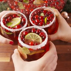 Jingle Juice Recipe Jingle Juice Recipe This Jingle Juice Holiday Punch recipe is simple, delicious, and beautiful! You just need three ingredients to craft this deliciou… Christmas Cocktails, Holiday Cocktails, Cocktail Drinks, Fun Drinks, Yummy Drinks, Yummy Food, Juice Drinks, Christmas Jello Shots, Drink Recipes