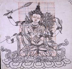 the use of grids and iconometry in Himalayan Buddhist art.