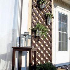 88+ DIY Simple Outdoor Wall Decorations Ideas - Philanthropyalamode.com | Popular Home Design