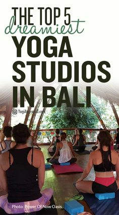 In this article, discover the best yoga studios in Bali to practice while on the road, take a yoga teacher training course, or dive into a healing retreat.