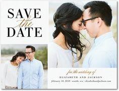 Save the Date Postcards | Wedding Paper Divas