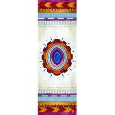 One by Sun - Gypsy Gem Mat yoga mat design purple white orange blue violet fuschia Canada, The Chic, Purple, Blue, Gem, Gypsy, Drop, Yoga, Orange