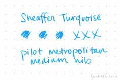 Sheaffer Skrip Turquoise (50ml Bottle)