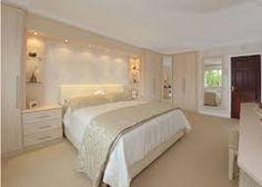 built in wardrobes around bed Fitted Bedroom Furniture, Fitted Bedrooms, Bedroom Decor, White Bedrooms, Bedroom Ideas, Bedroom Cupboards, Shelves In Bedroom, Flat Interior, Interior Design