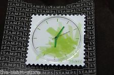 """S.T.A.M.P.S. Watch Face """"Fleurs Numeriques"""" Digital Flowers Green Interchangeabl"""