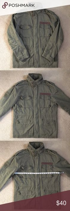 AEROPOSTALE Airborne Military Style Jacket In good condition. Size: Large Aeropostale Jackets & Coats