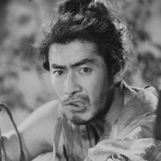 三船 敏郎 - Toshirō Mifune in publicity stills for Rashōmon (Akira Kurosawa, 1950)