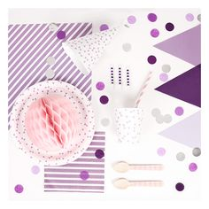 le kit anniversaire violet