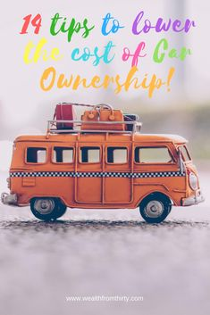 Save money on your car expenses!