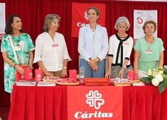 On June 15, 2017, Infanta Elena presides over 'Caritas' charity fundraising event on the occasion of the Charity Day in Madrid, Spain. Caritas Spain is the official confederation of the social and charitable action organisations of the Catholic Church in Spain.