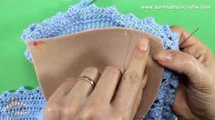 como aplicar bojo em biquinis e tops de crochec-cAprendendo Crochê - YouTube
