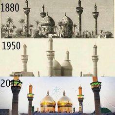 kalenderali:  İmam Kazim ve İmam Cevad aleyhisselam'in haremi… The beautiful shrines of Imam Kadhim (as) & Imam Jawad (as)