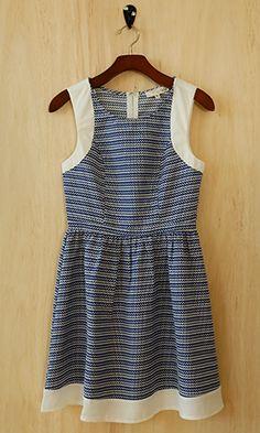 Summer's Little Blue Dress
