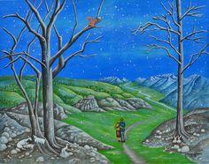 Maya Starr Le 24ème jour de décembre 28 x 35 cm