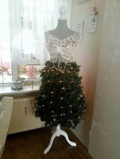 Find dress forms to make a this and dress form christmas tree tutorial at…