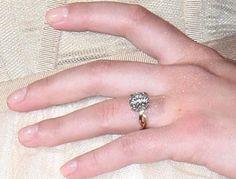 Scarlett Johansson's former engagement ring