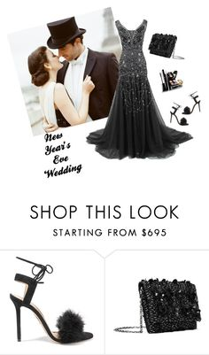 """New Year's Eve Wedding"" by jeanine65 ❤ liked on Polyvore featuring Charlotte Olympia and Oscar de la Renta"
