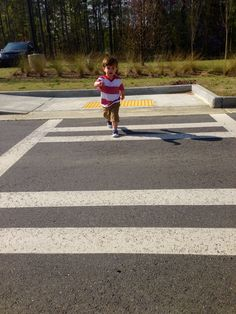 Crossing with Confidence  http://www.dayswithgrey.com/blog/2016/3/31/crossing-with-confidence